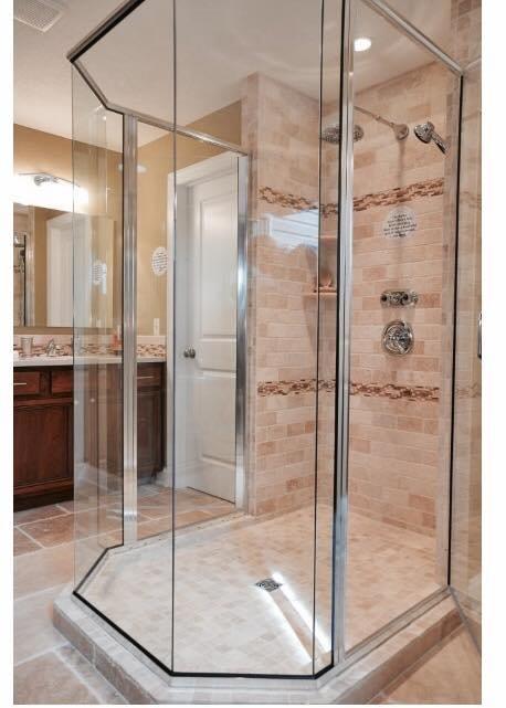 Luxury shower in Akron OH from Barrington Carpet & Flooring Design