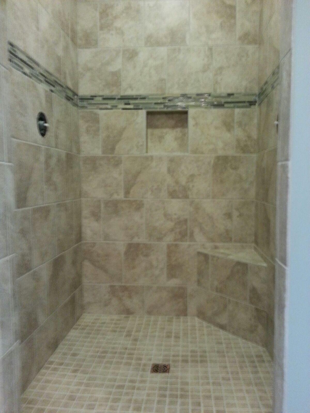 Luxury shower in Hartville OH from Barrington Carpet & Flooring Design