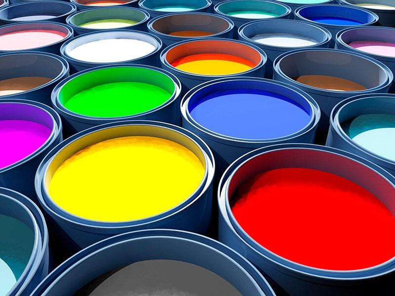 Pinturas decorlux - Pinturas con paletas de color