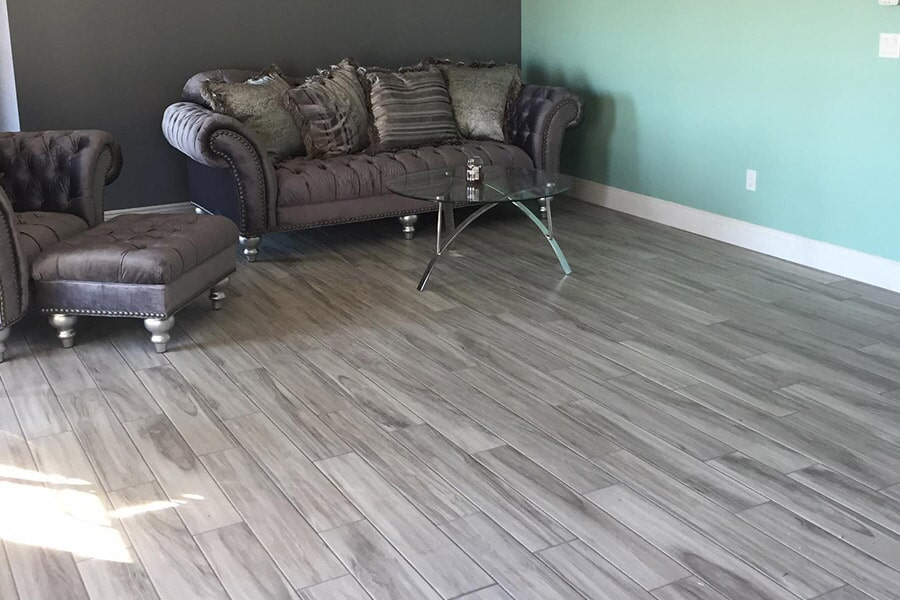 Wood look tile floors in Crooksville OH from Lavy's Flooring