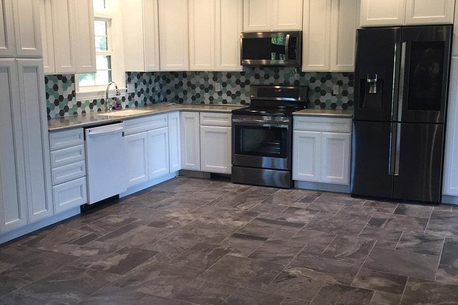 Custom tile in New Lexington OH from Lavy's Flooring