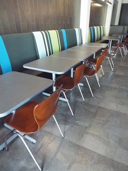 Fresh Foods sitting area, University of Alabama Tuscaloosa, AL