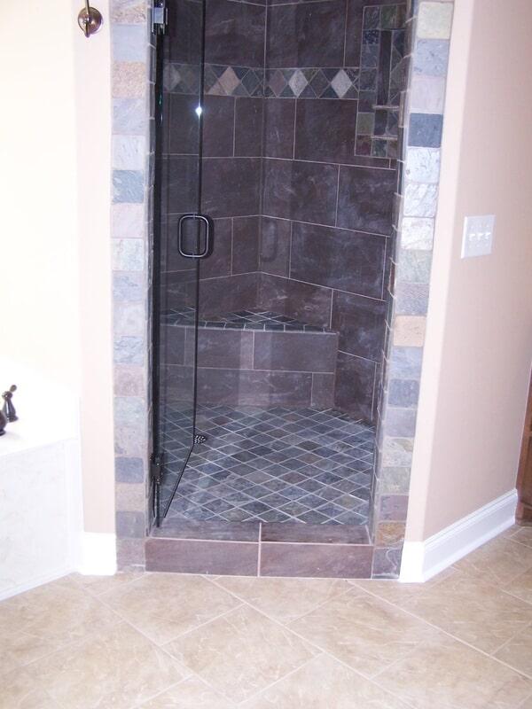 Tile shower in Huntsville AL from Alabama Custom Flooring & Design