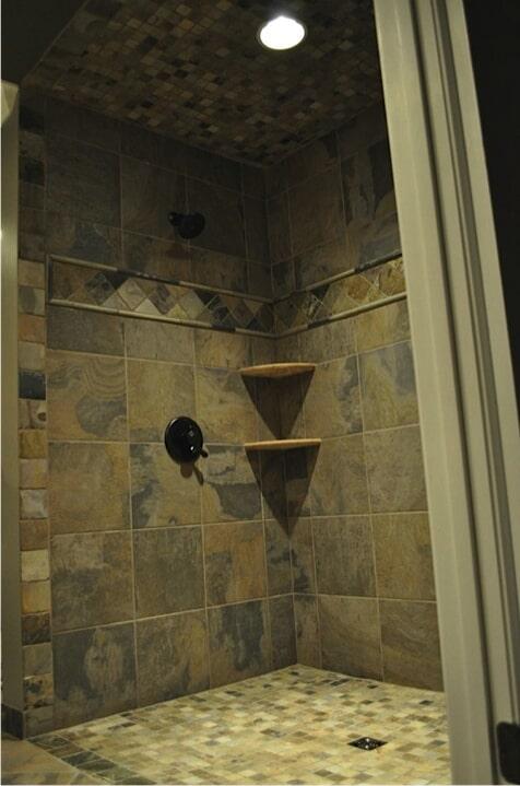 Custom shower in Hartselle AL from Alabama Custom Flooring & Design