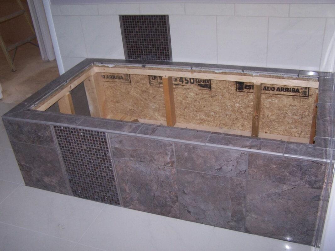 Shower Work in Hartselle AL from Alabama Custom Flooring & Design