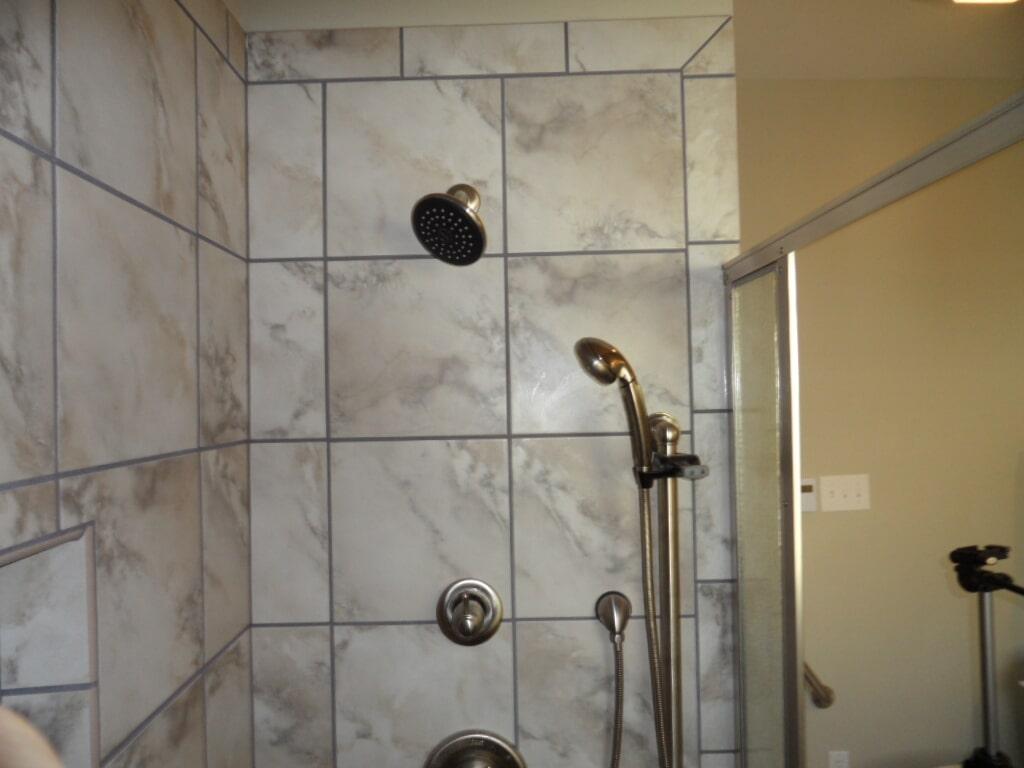 Luxury tile shower in Madison AL from Alabama Custom Flooring & Design