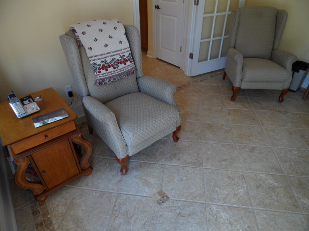 Work done by Alabama Custom Floor & Design near Decatur AL