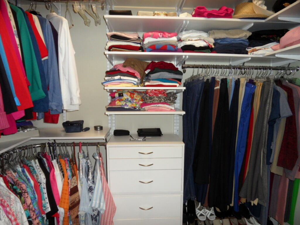 Custom closet in Cullman AL from Alabama Custom Flooring & Design