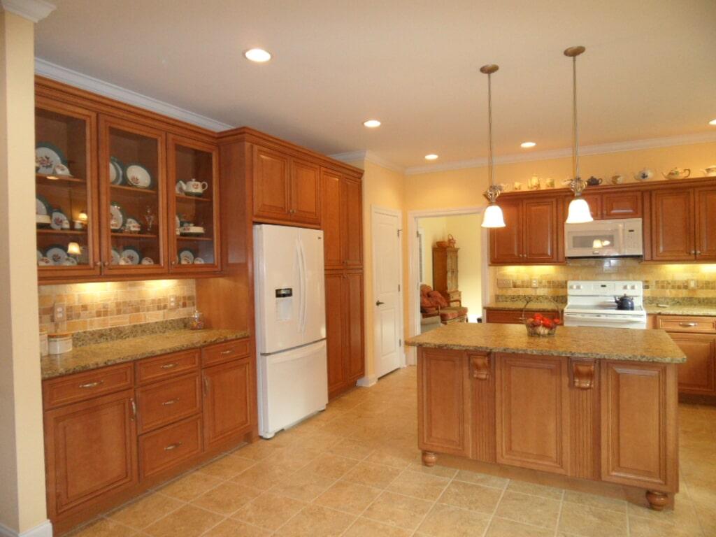 Custom kitchen in Cullman AL from Alabama Custom Flooring & Design