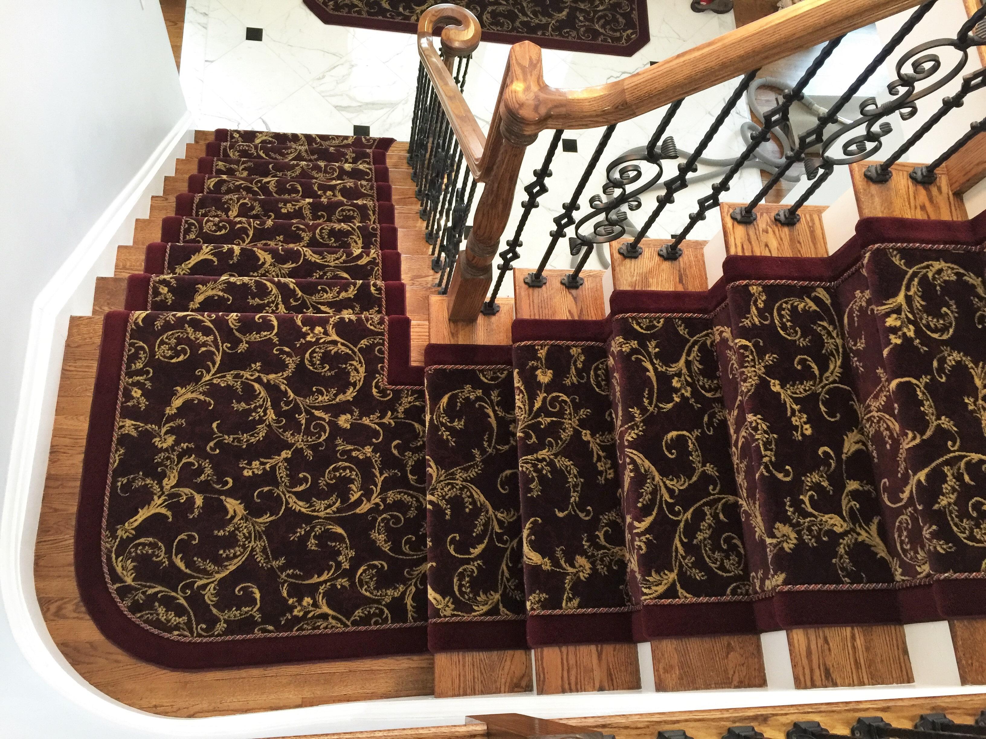 Custom Hallway & Stair Runners in Franklin Lake, NJ from G. Fried Flooring & Design