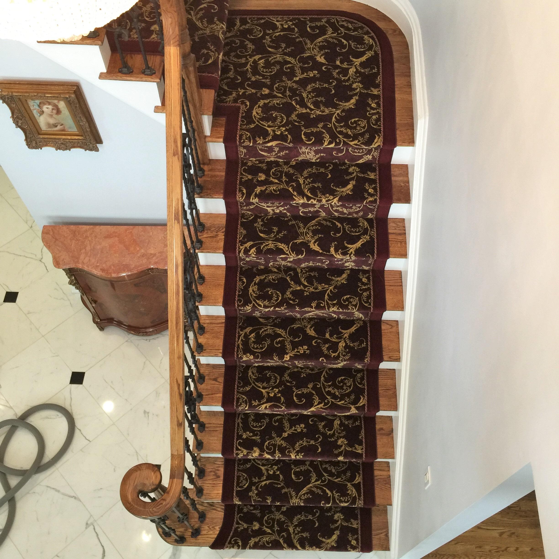 Custom Hallway & Stair Runners in Upper Saddle River, NJ from G. Fried Flooring & Design