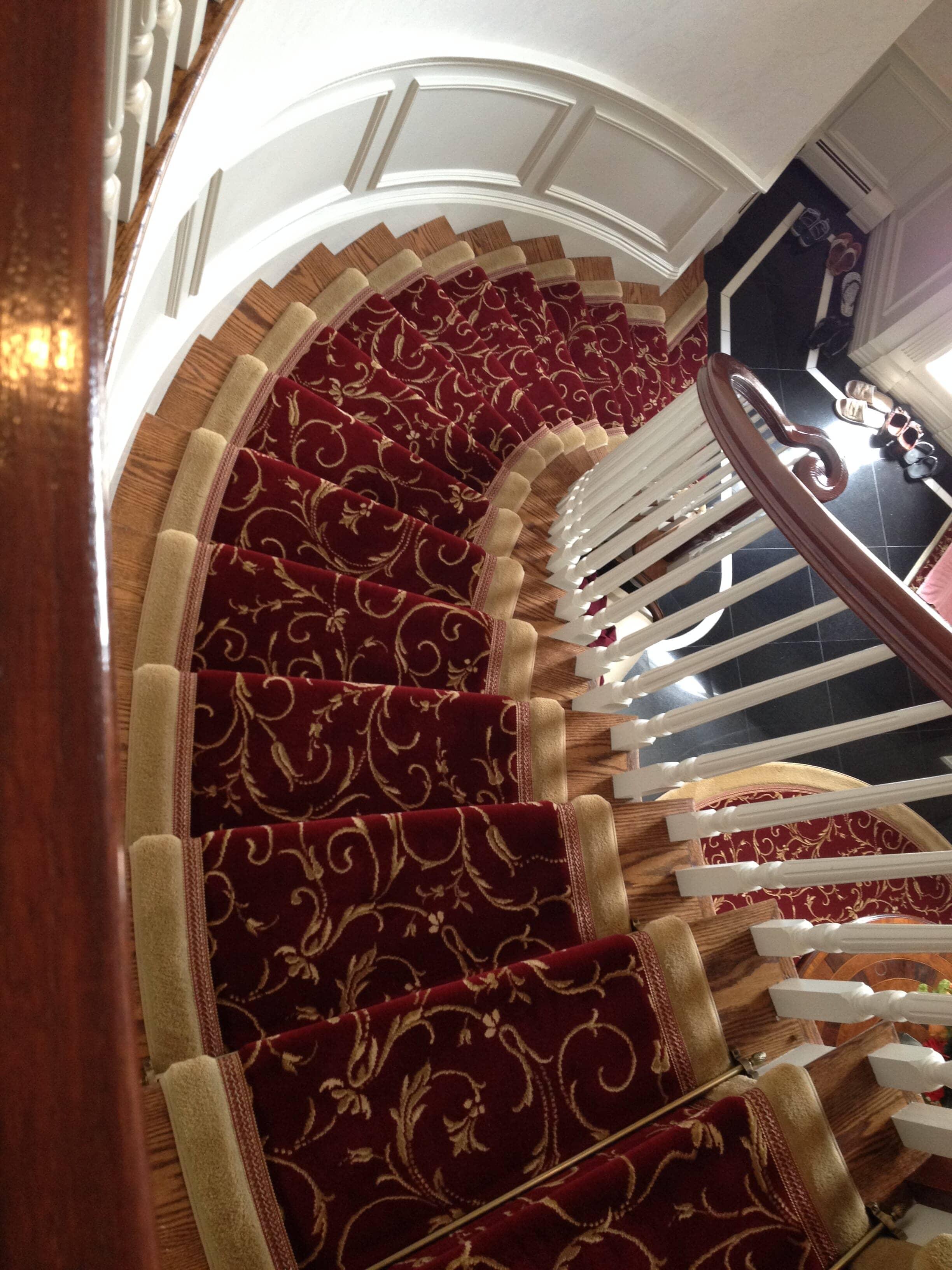 Custom Hallway & Stair Runners in Mahwah, NJ from G. Fried Flooring & Design