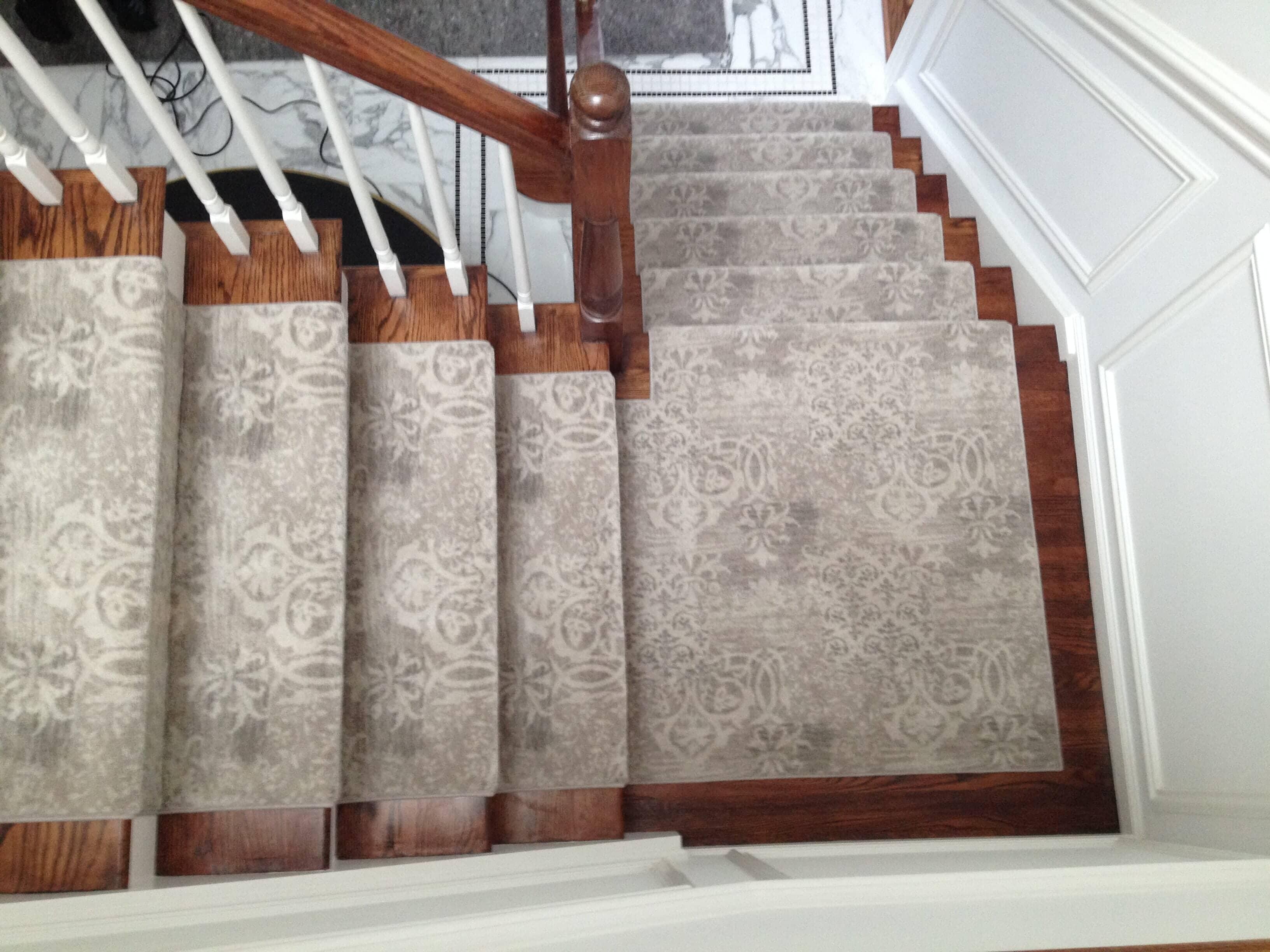 Custom Hallway & Stair Runners in Wyckoff, NJ from G. Fried Flooring & Design