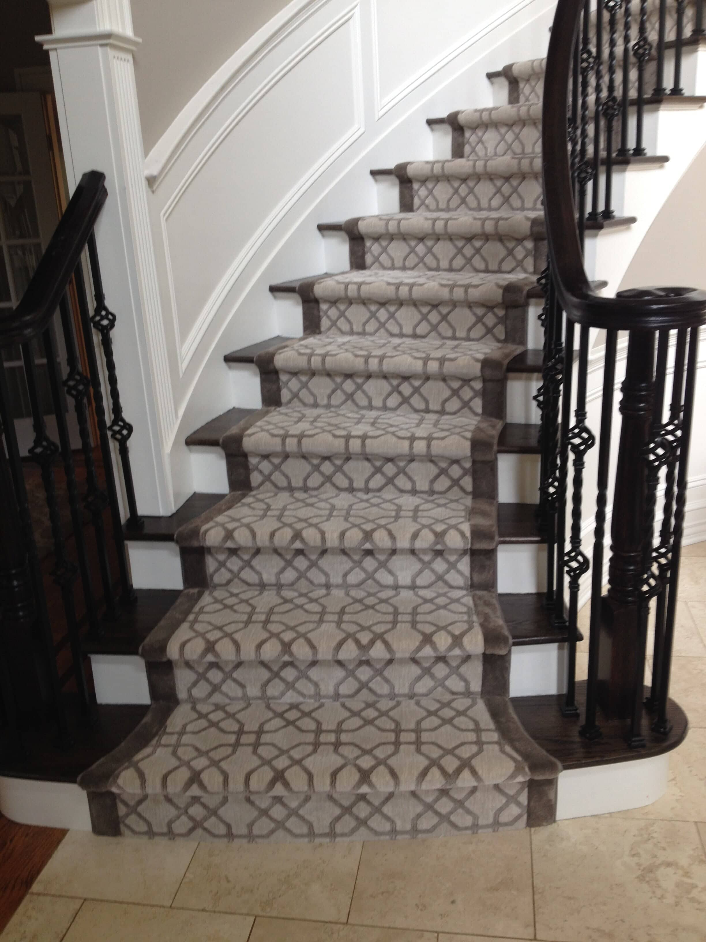 Custom Hallway & Stair Runners in Paramus, NJ from G. Fried Flooring & Design