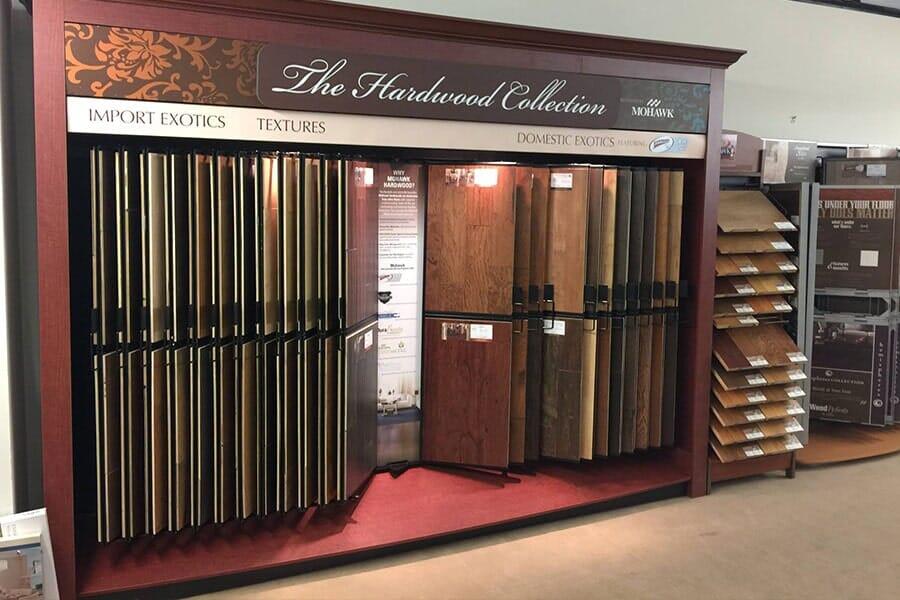 Hardwood floors in Jerseyville IL from Jerseyville Carpet & Furniture Galleries