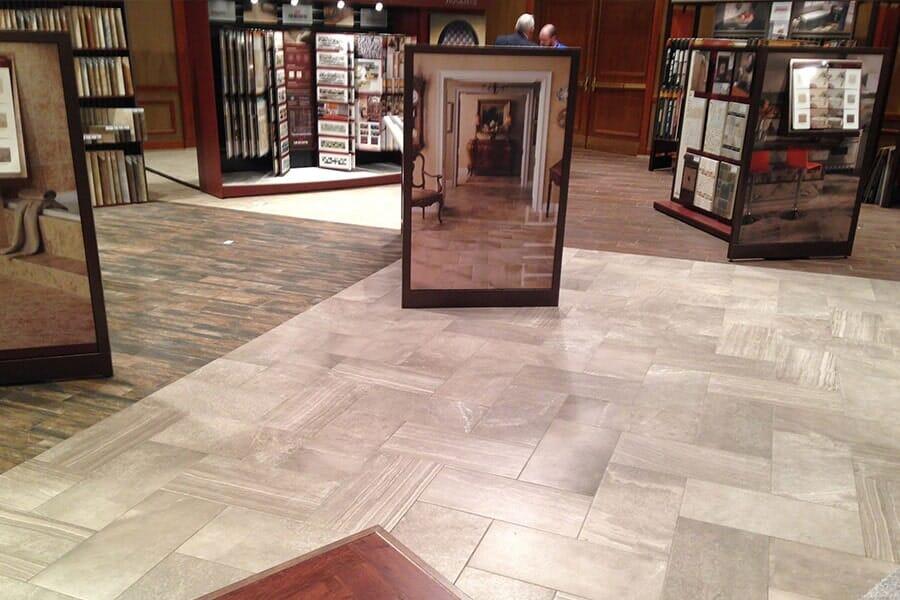 Flooring showroom in Godfrey IL from Jerseyville Carpet & Furniture Galleries