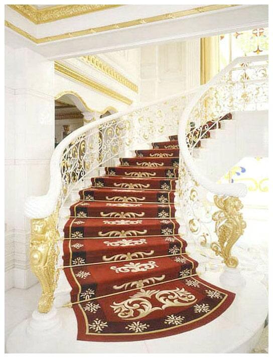 Custom stair runner in Upper Saddle River, NJ from G. Fried Flooring & Design