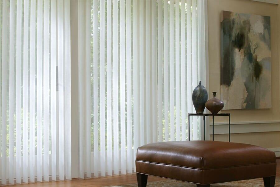 Verticle blinds in San Diego CA from Metro Flooring