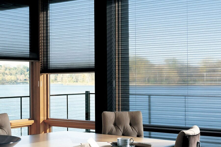 Custom window shades in La Jolla CA from Metro Flooring