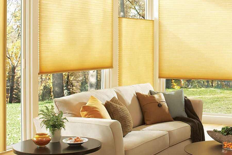 Custom window shades in Carmel Valley CA from Metro Flooring