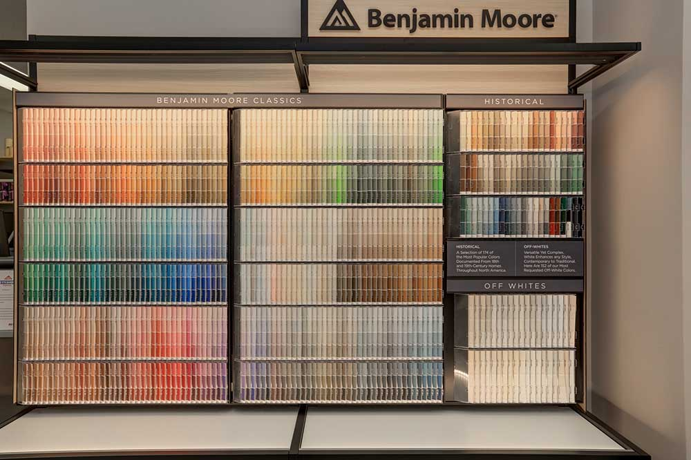 Benjamin Moore paint from DJ Floors & Remodeling near Baltimore City MD