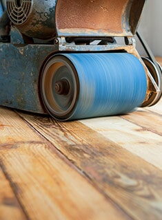 Hardwood refinishing in Elkridge MD by DJ Floors & Remodeling