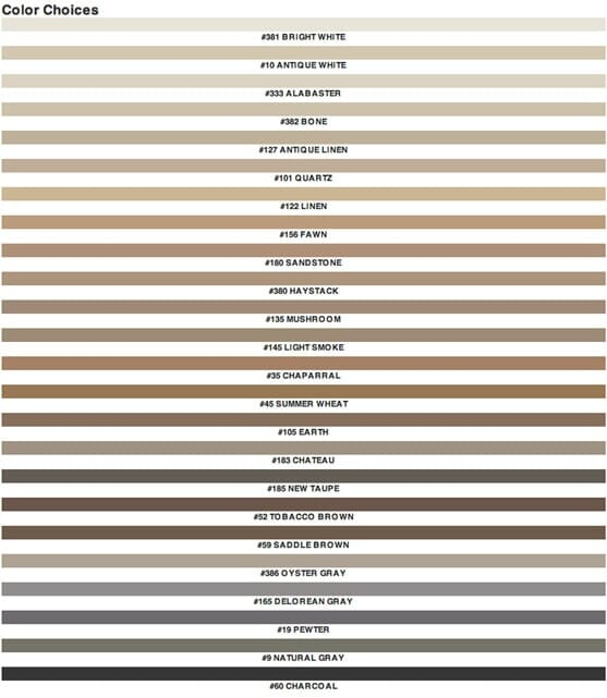 Tile grout color choices - San Diego CA - Metro Flooring