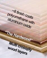 Hardwood floor finish information