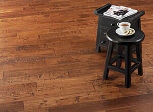 Hand scraped and distressed wood floors in San Diego CA