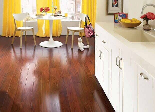 Laminate floor advantages