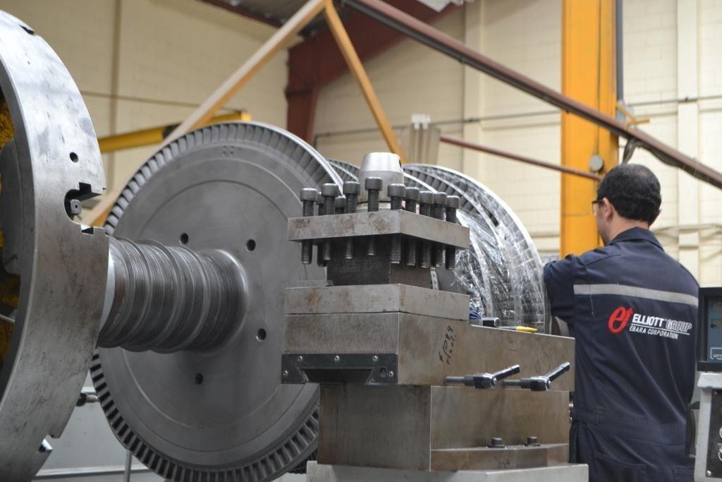 Elliott Turbocharger Guatemala - cambios de alabes
