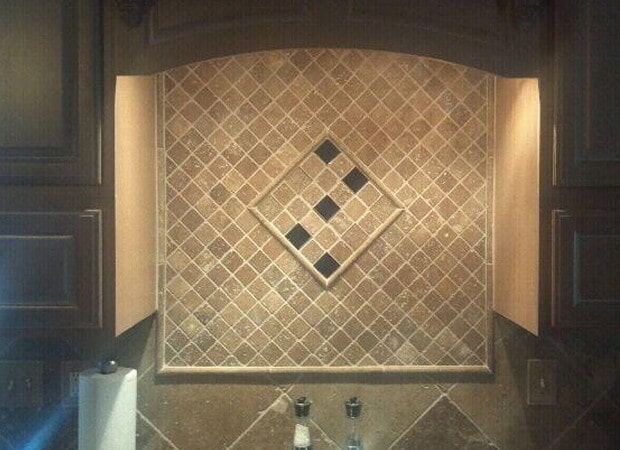 Backsplash install in O'Fallon, IL from Valor Home Services