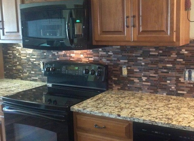 Backsplash in Collinsville, IL from Valor Home Services
