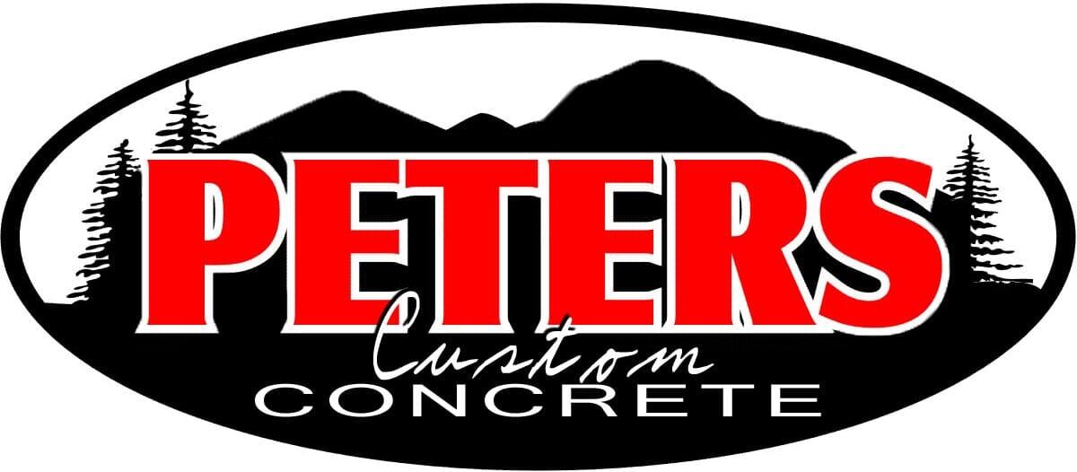 Peters Custom Concrete Logo