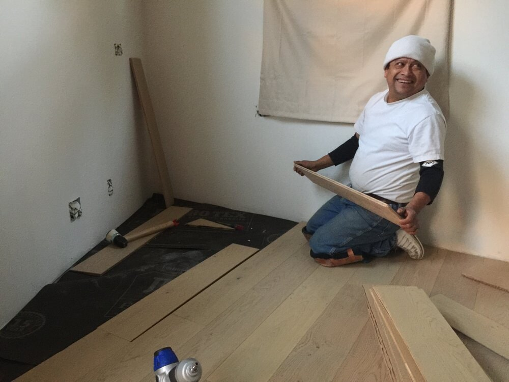 Amazing craftsman and no problem attitude by the flooring installation team in San Mateo, CA by Luxor Floors Inc.