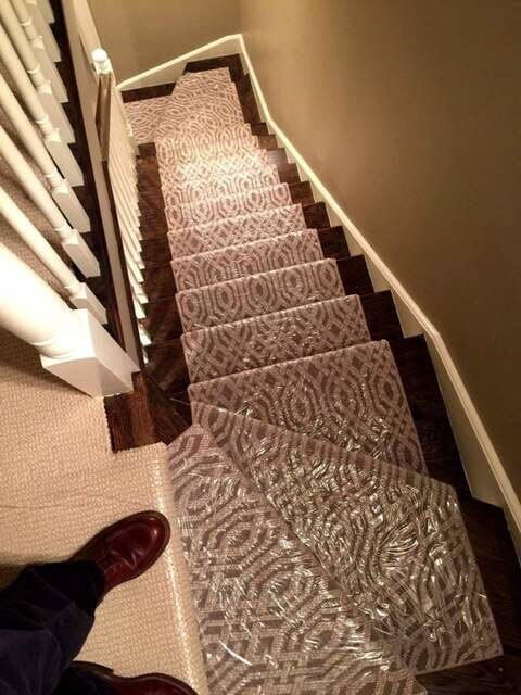Stair Carpet in Palos Park, IL from Sherlock's Carpet & Tile