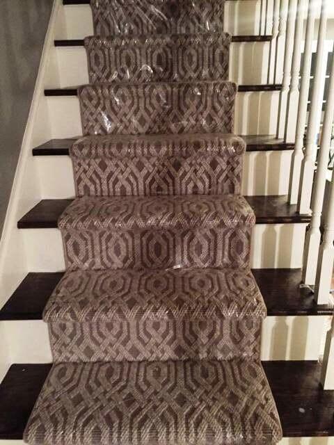 Stair runner carpet in New Lenox, IL from Sherlock's Carpet & Tile
