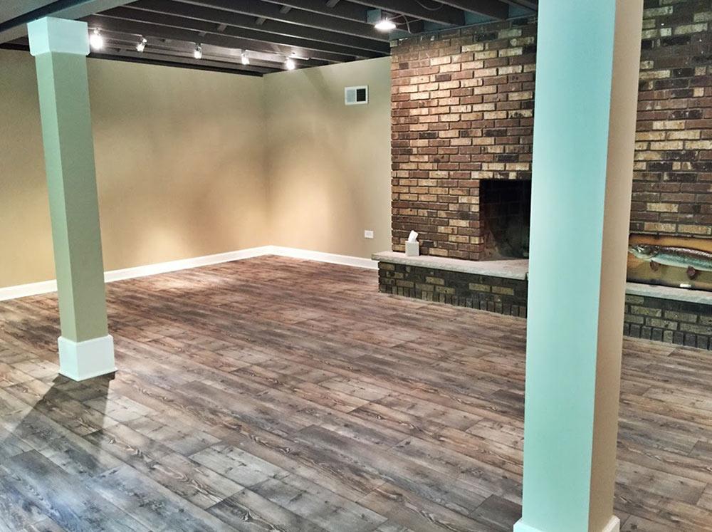 Vinyl flooring installation in New Lenox, IL from Sherlock's Carpet & Tile