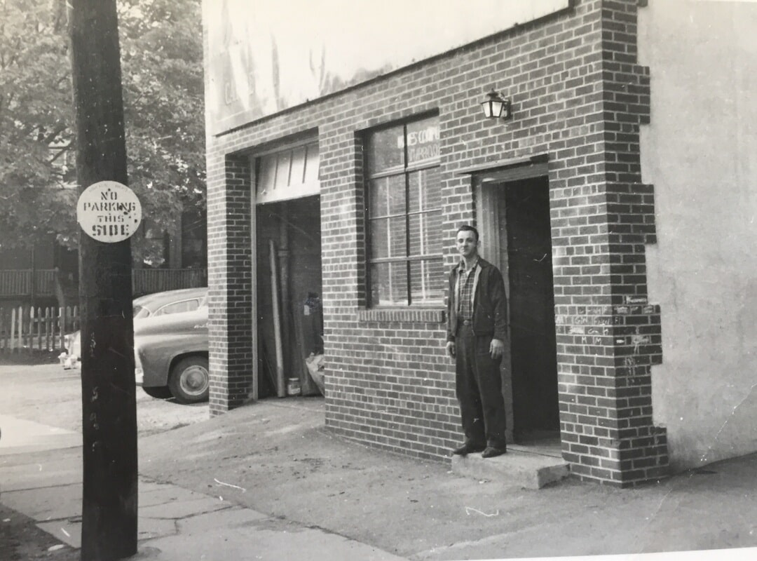 The Original Kanter's storefront, shone in the 1950's