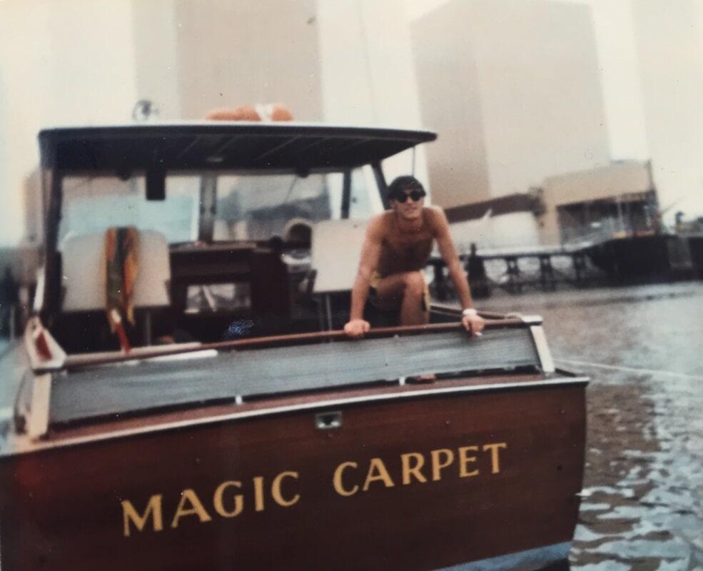 """Kanter's Boat - """"The Magic Carpet"""""""