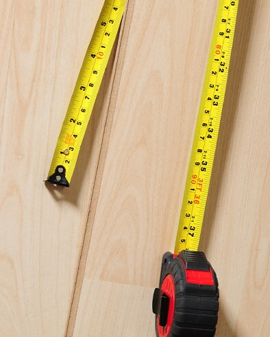 In-Home Measurements at Hardwood Floor Company