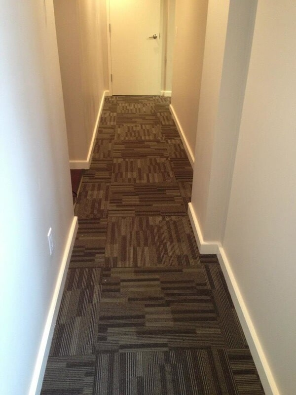 Commercial Carpet installation at the office of Dr. Vargas - Chappaqua Smiles.