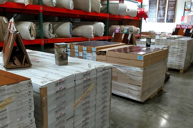 Get your flooring products at The Mill
