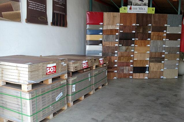 Buy Hardwood Flooring at The Mill