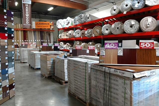 Get your flooring today from The Mill Carpet & Flooring Outlet