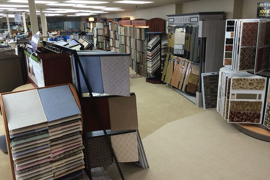 Carpets of Cape Cod showroom near Hyannis, MA