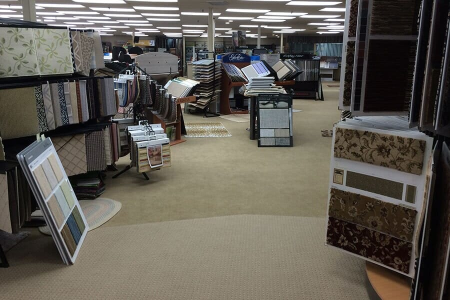 Carpets of Cape Cod showroom near Orleans, MA