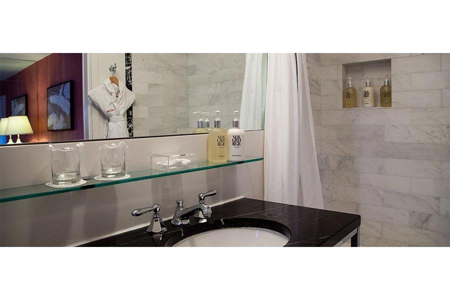 Commercial bathroom remodeling in Riverside CA by Elci Cabinets & Floors