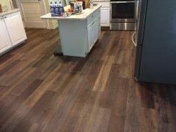 Custom Luxury vinyl floors in Zanesville OH from Lavy's Flooring