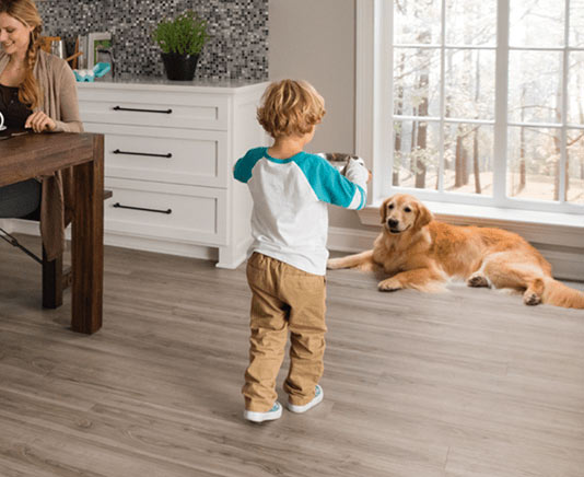 luxury vinyl floors in Coon Rapids MN from Carpet City Express